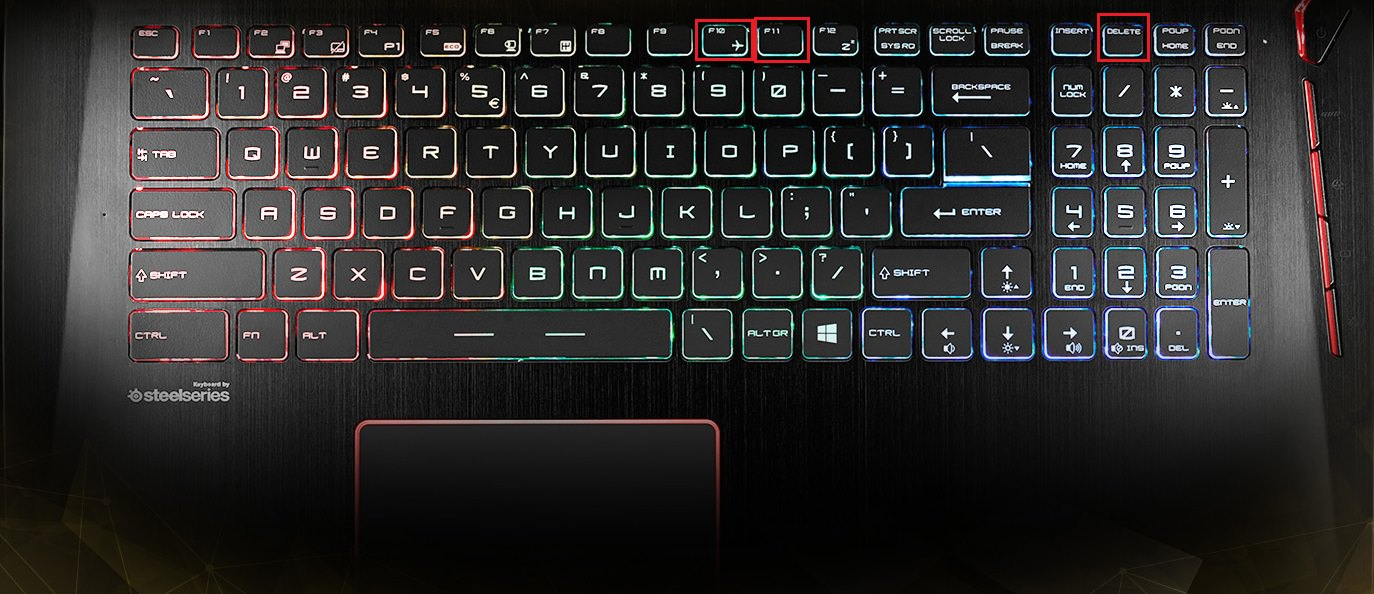 how to unlock keyboard on laptop