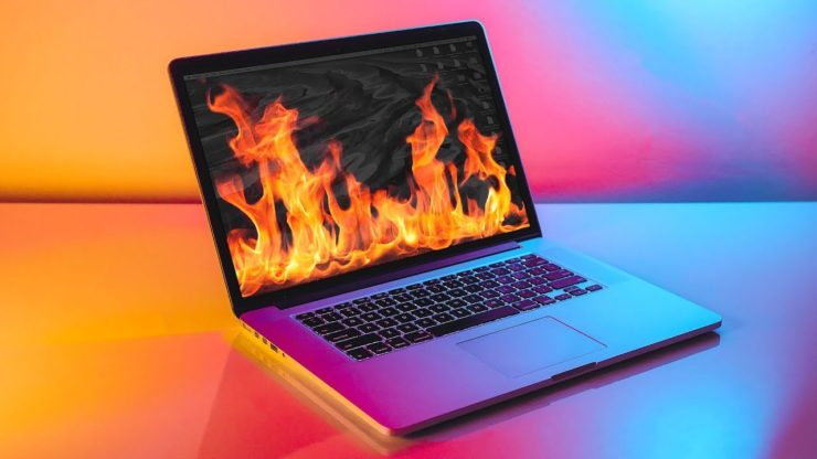 laptop overheating when playing games