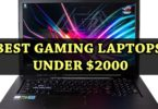 Best Gaming Laptops Under 2000